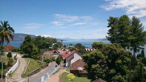 Parapat city ~ Lake Toba