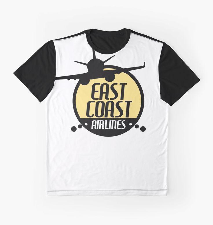 East Coast Airlines - Retro by Elle Tamata