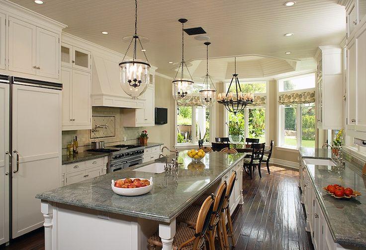 Gray Granite Countertops - Traditional - kitchen - Gordon Gibson Construction