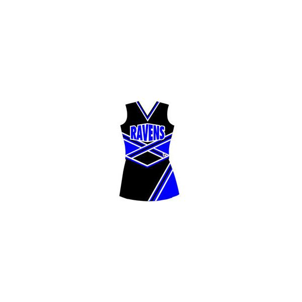 Halloween Costumes & Famous Cheerleader Uniforms ($146) ❤ liked on Polyvore featuring cheerleading, cheer, dresses and one tree hill