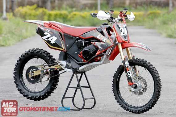 Modifikasi Honda Beat jadi Trail. Gambar selengkapnya silahkan klik pada gambar di atas ^_^