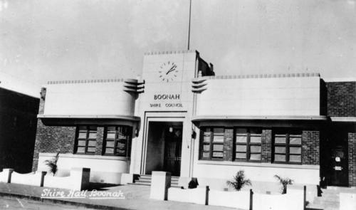 Shire Hall, Boonah, 1942 lilly