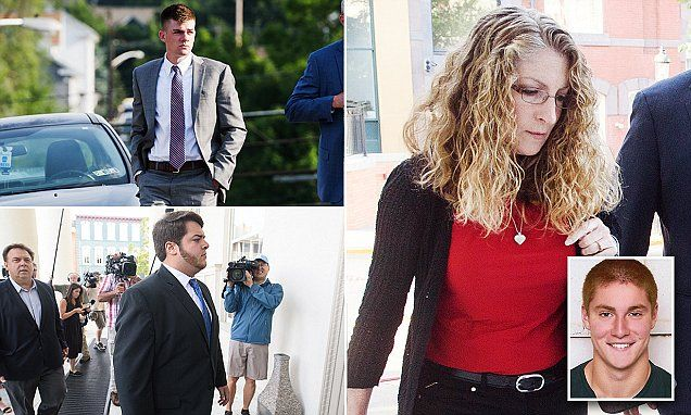 PENNSYLVANIA... Penn State pledge death trial reveals frat brothers texts | Daily Mail Online
