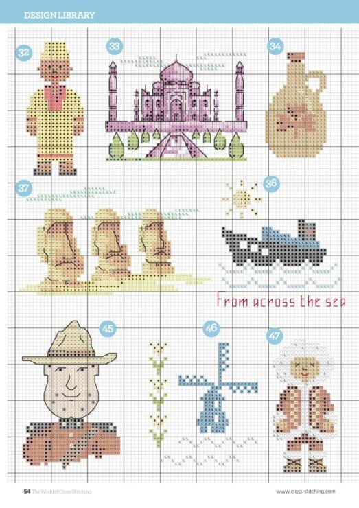 Gallery.ru / Фото #27 - The world of cross stitching 229 - tymannost