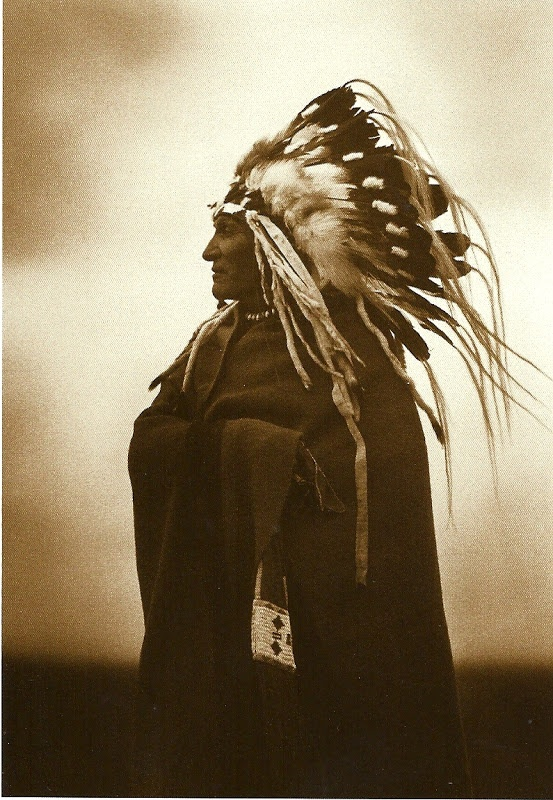 Lazy Boy, Blackfoot (1915) postcard, photo by Roland Reed, Azusa Publishing, Englewood, Colo., c2008