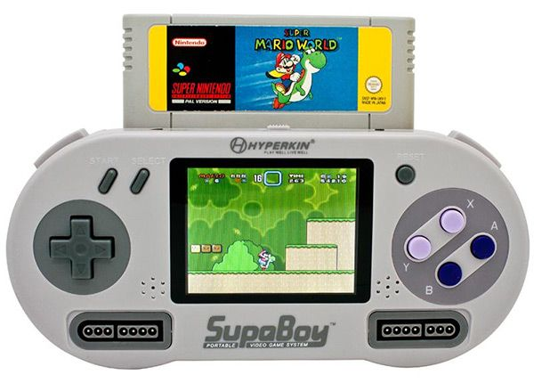 This is so COOL! SupaBoy portable Video Game System- found it online at Urban Outfitters.