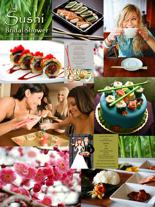 Sushi Themed Bridal Shower Inspiration Board from Storkie Express Inc.: Wedding Planning Ideas, Decor Ideas, Wedding Receptions, Receptions Nibbles, Theme Bridal Shower, Weddings, Shower Inspiration, Parties Ideas, Wedding Plans Ideas