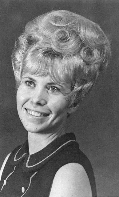 Bouffant hair, 1960s and Hair on Pinterest