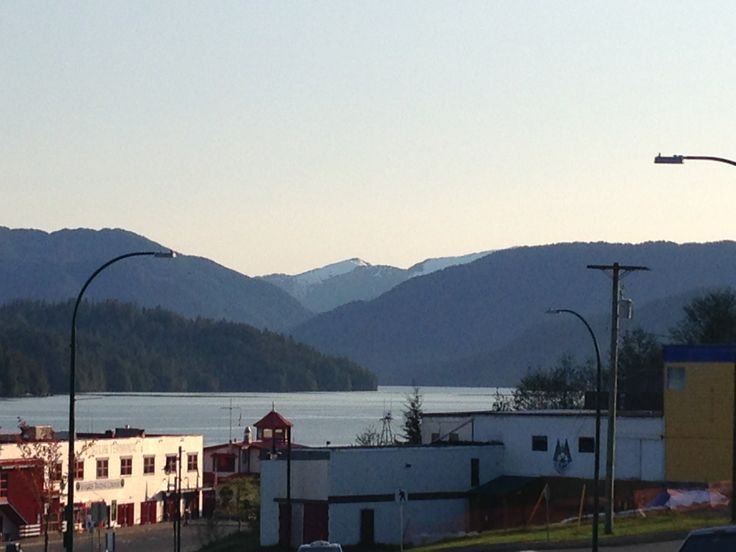 View from Cow Bay, a beautiful little village just moments away from downtown Prince Rupert