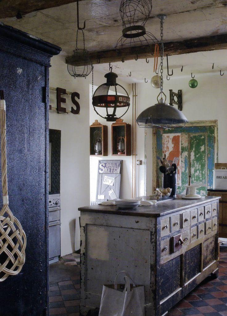 190 best Küche \/ Kitchen images on Pinterest Home ideas, Kitchen - küche vintage look