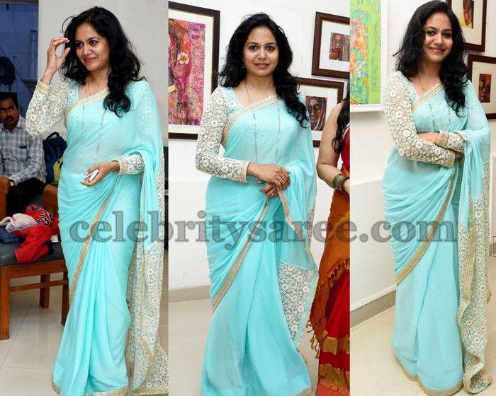 Sunitha Singer Full Sleeves Blouse | Saree Blouse Patterns