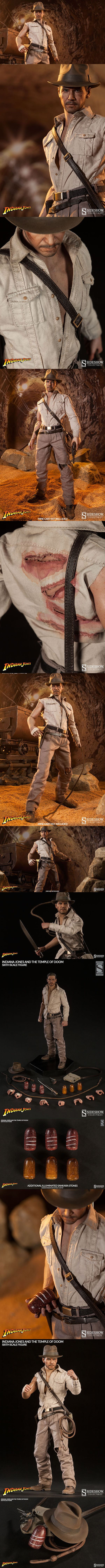 The New Indiana Jones Temple Of Doom Sixth Scale Figure By Sideshow Is So So Pretty I'm already in love with the new Indiana Jones Temple of Doom Sixth Scale Figure. First of all, the face. You get all kinds of different accessories and different hands to use those accessories.  I know, I'm fangirling. I honestly can't help it Read more: http://nerdapproved.com/approved-products/the-new-indiana-jones-temple-of-doom-sixth-scale-figure-by-sideshow-is-so-so-pretty/#J4KtjBsZQf7g7TXj.99