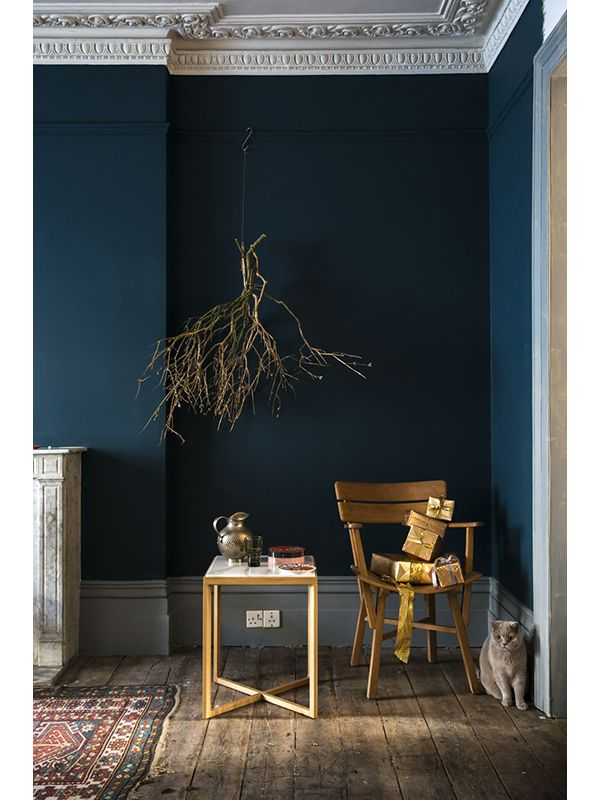 25 best hague blue images on pinterest dark dark walls and farrow ball. Black Bedroom Furniture Sets. Home Design Ideas
