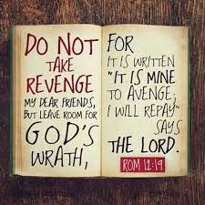 Image result for Romans 12:19