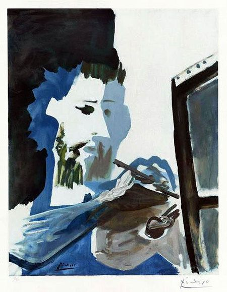 """Le Peintre"" (The Painter), by famed artist Pablo Picasso, was lost in the crash of Swissair Flight 111 off Halifax, Nova Scotia, Canada on Sep 2, 1998. In addition to this painting, which was valued at about one-and-a-half million dollars, the plane's shipment also contained almost a half a billion dollars worth of precious diamonds and other jewels."