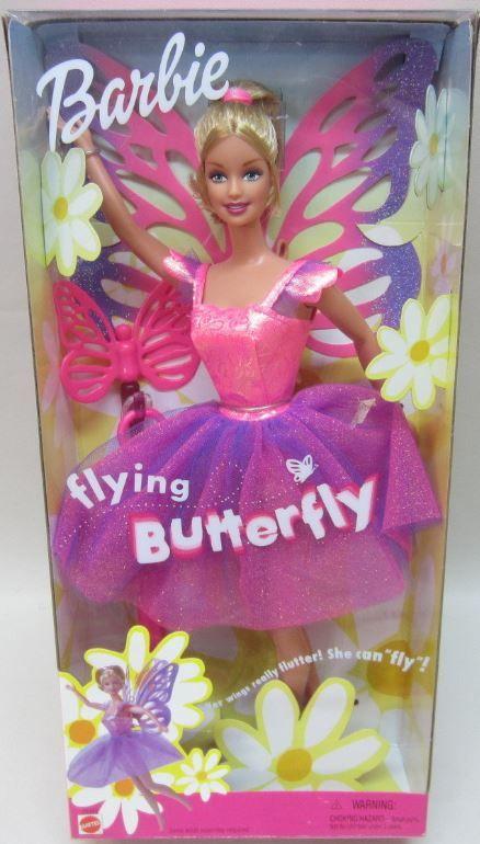 2001 Flying Butterfly Barbie
