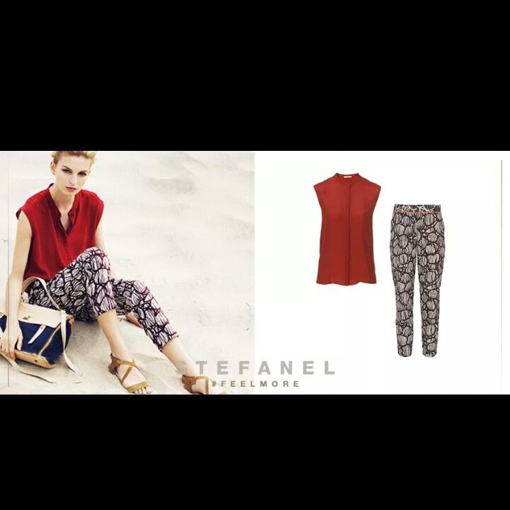#Pantaloni #stampati