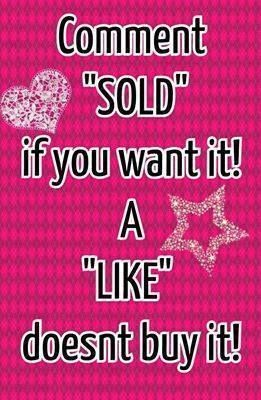 Comment Sold