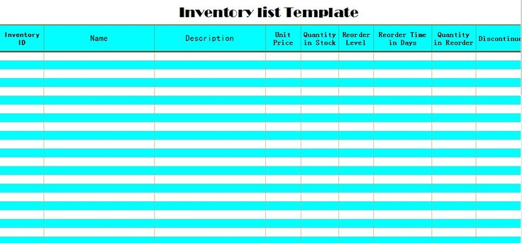 Stock Take Spreadsheet Templates in Excel u2013 Project Management - excel phone list template
