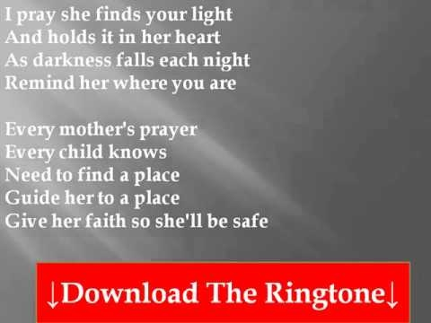 A mother's prayer  By Celine Deon
