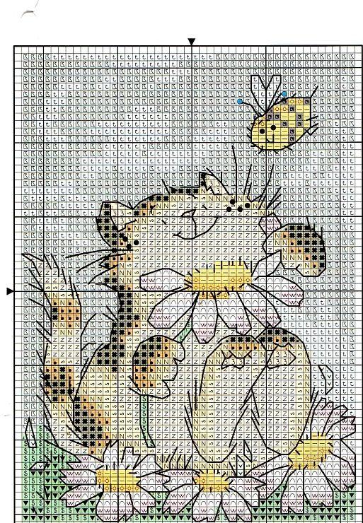 Cat and Daisies, and various Margaret Sherri designs.