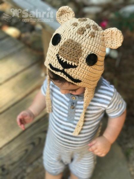 Lion Cub Hat & Booties crochet pattern by eye for cuteness | Pinterest