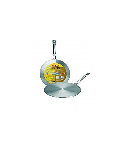 Ibili 703714 Adaptateur induction – vitrocéramique 14 cm (Inox 18%): Garantie : 2 an(s) Matériau : Inox 18% Diamètre : 14 cm Cet article…