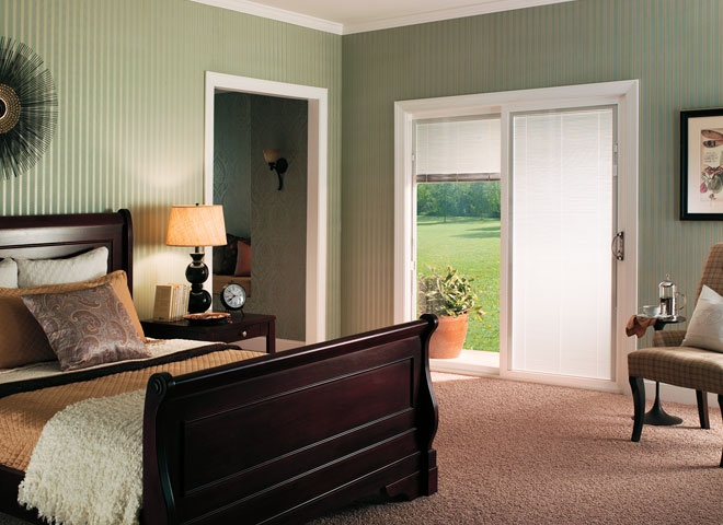 Low Maintenance Vinyl Encompass By Pella Sliding Patio Doors Add Style And  Access To A