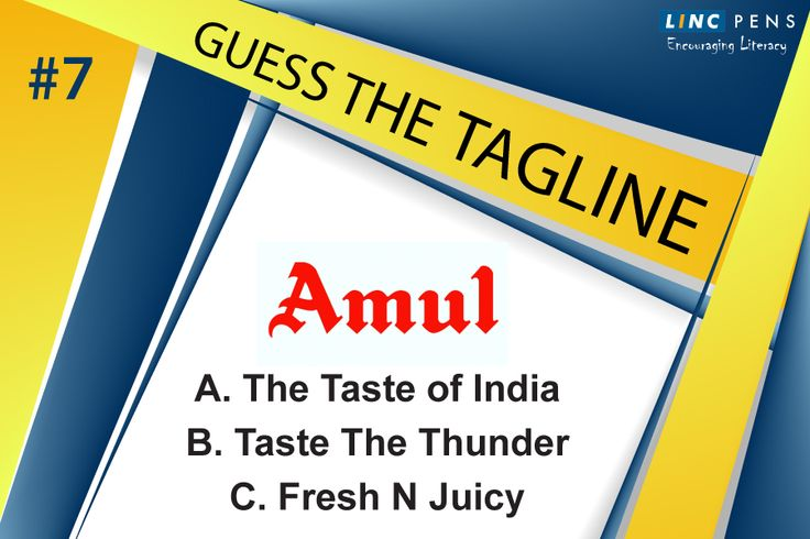 What is the correct tagline of #amul?