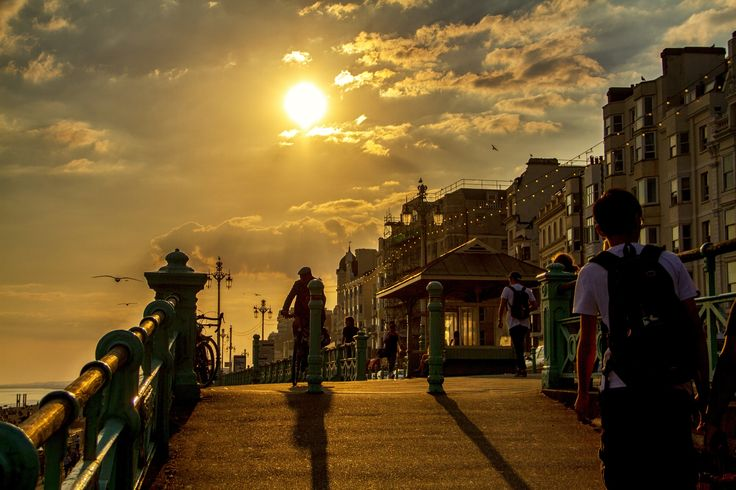 Summer Sunset in Brighton by Davide Mancini on 500px