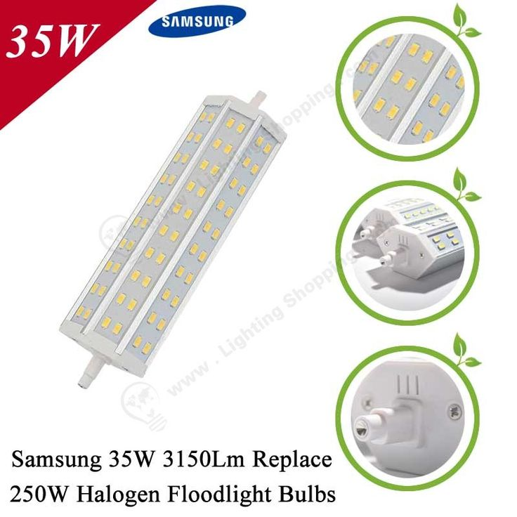 #Samsung SMD5730 #LED #Floodlight #Bulb, R7S, Replace Traditional Halogen Floodlight Bulbs-Detail-35W