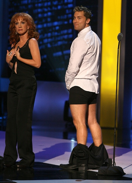 Lance Bass  Kathy Griffin