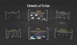 Publisher: Sarah Reisdorf. This Prezi is a Web 2.0 tool that describes in detail what the Elements of Fiction are with examples within a slide show format. This prezi could be used at the beginning of the unit to explain the Elements of Fiction, or even at the end as a review before a test.  To make it interactive, students could use an individual whiteboards with markers to come up with examples for each of the elements as we review it. #etlobest