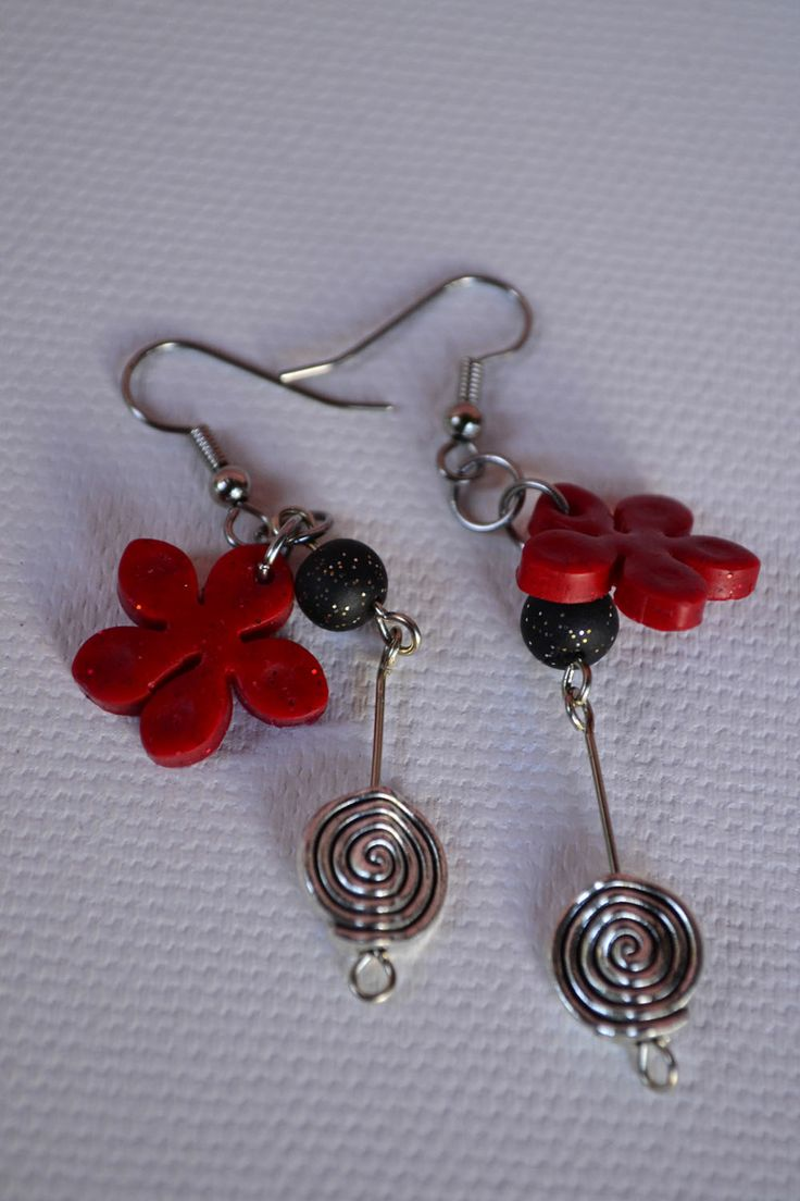 earrings, aros