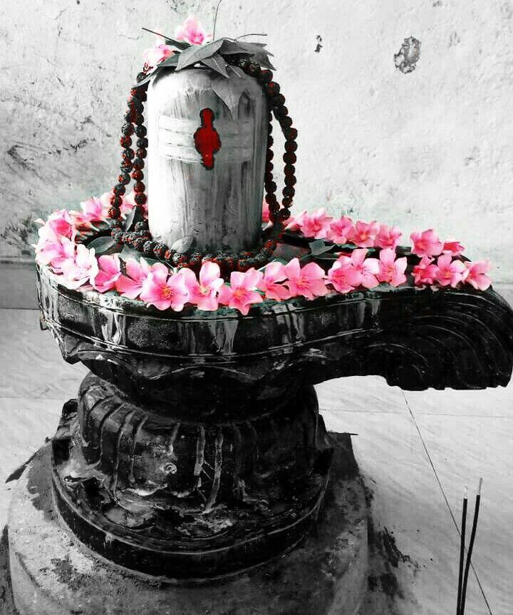 #shivalinga #colorsplash edited by me