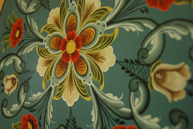 rosemaling by StephanieLand | Norway Rosemaling /Design ...