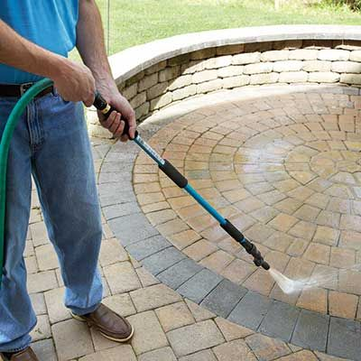 using water hose for masterbation