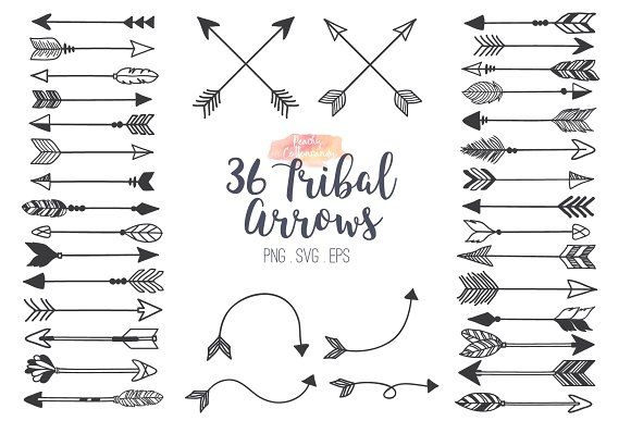 24+ Tribal arrow border clipart information