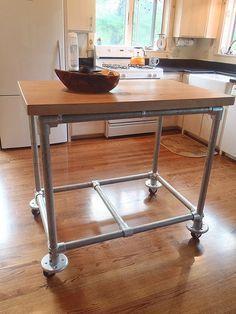 best 25 portable kitchen island ideas on pinterest portable island mobile kitchen island and. Black Bedroom Furniture Sets. Home Design Ideas