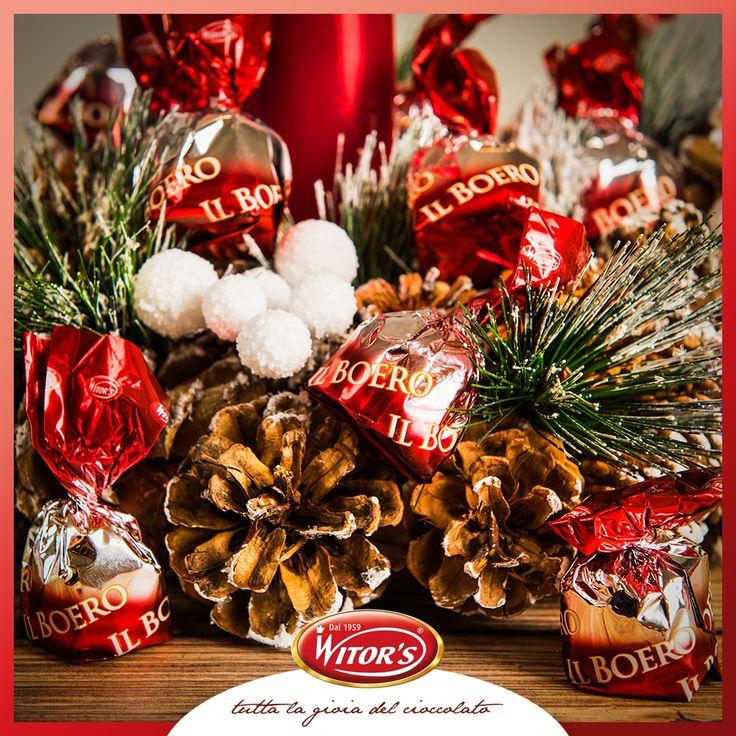 Per Witor's la tradizione è Boero alla ciliegia, pralina extra fondente ripiena di ciliegia e liquore…quali sono le tradizioni a cui non potete rinunciare nel periodo di Natale?