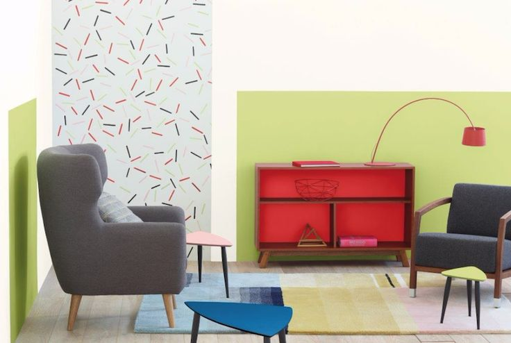 Bold and bright, Connect, a 2016 theme forecasted by @Plascon consists of geometric motifs, sculptural colour treatment and all-over colour.