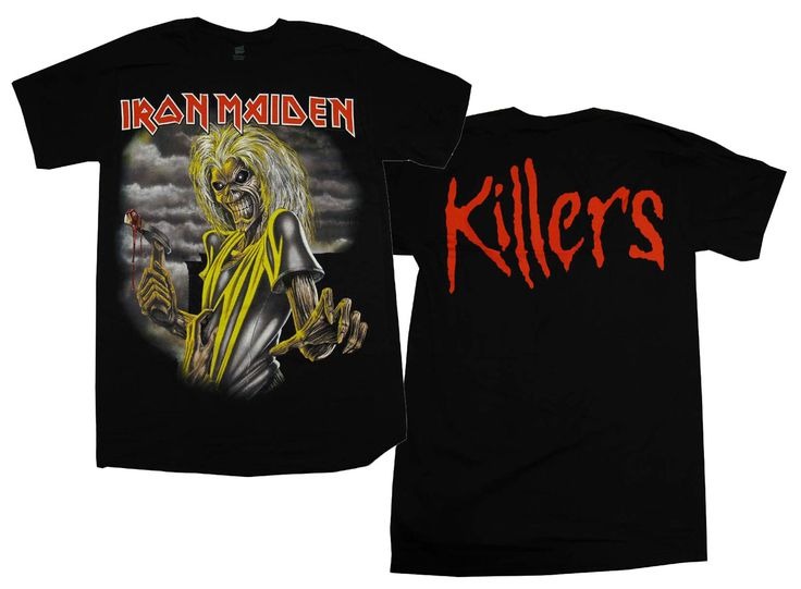 Iron Maiden Killers T-Shirt for $19.95  http://www.jsrdirect.com/merch/iron-maiden/iron-maiden-killers-t-shirt  #ironmaiden #killers #powermetal #heavymetal #metaltees #metaltshirts #metalmusic #metalmerch