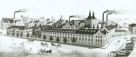 Hietalahden panimo - Tehtaan työntekijöille avatt.Albertin- ja Pursimiehenkadun kulmassa PKL ja sairaala v.1885.Hoito ja lääkk.olivat ilmaisia.Sairaala oli avoin myös lähiseud.asukkaille.Sos.turvaa ei ollut,monet tehtailij.pitiv.hyv.huolta työväestään.Hyväntekev.työn lisäksi Anna oli esim.Maria-yhdistyksen kunniajäseni.Yhdistys osti 1897 Sinebrychoffin teht.sairaalan tehdäks.kodittom.naisille asuntolan.Sairaalan välineistö ja kaikki sisustus lahjoitett.Marian sairaalalle.