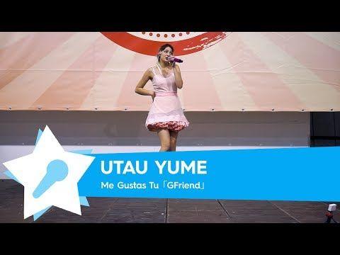 Utau Yume - Me Gustas Tu [Live @ Napoli Comicon 2017] - YouTube