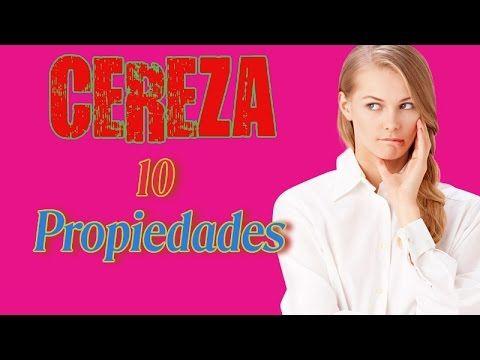 10 propiedades de las cerezas, antioxidante,para la artritis, la diabetes y la digestión - YouTube