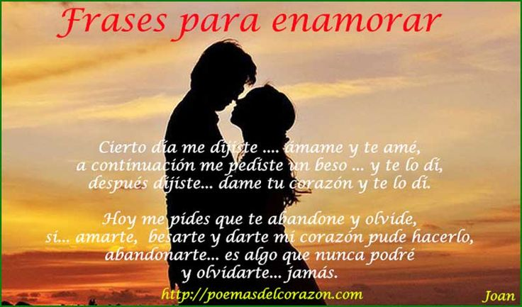 Frases De Amor Para Enamorar: 41 Best Poemas De Amor Images On Pinterest