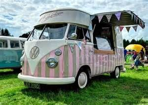 Ice Cream Hippie Vw Bus