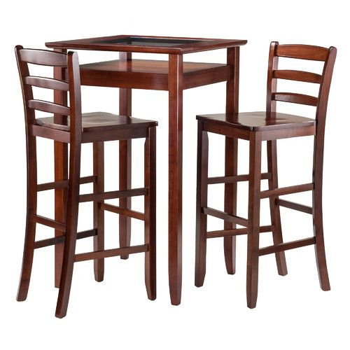 Found it at Wayfair - Halo 3 Piece Pub Table Set