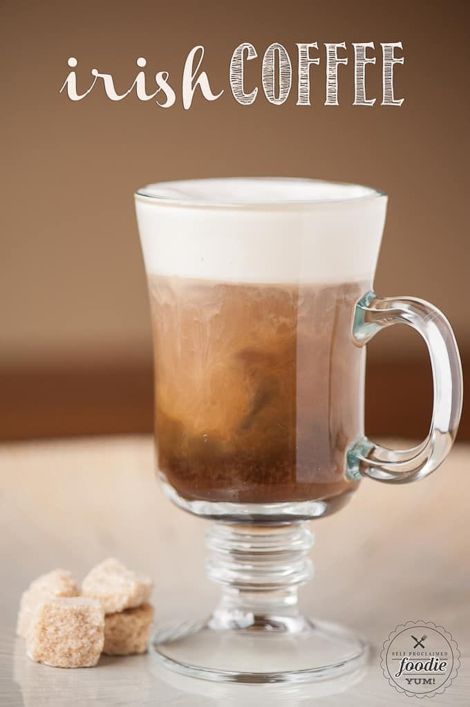 If you've never enjoyed an Irish Coffee, this delicious hot drink combines sweetened Irish whiskey and an Irish Cream whipped cream to standard coffee.