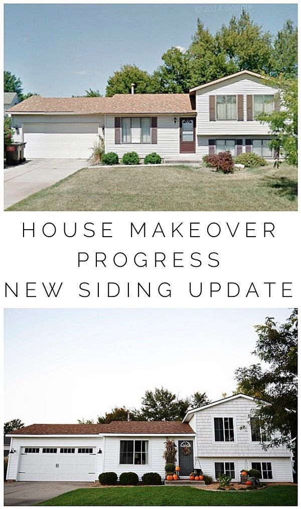 40 best images about quad level home remodel exterior on for 60s house exterior makeover